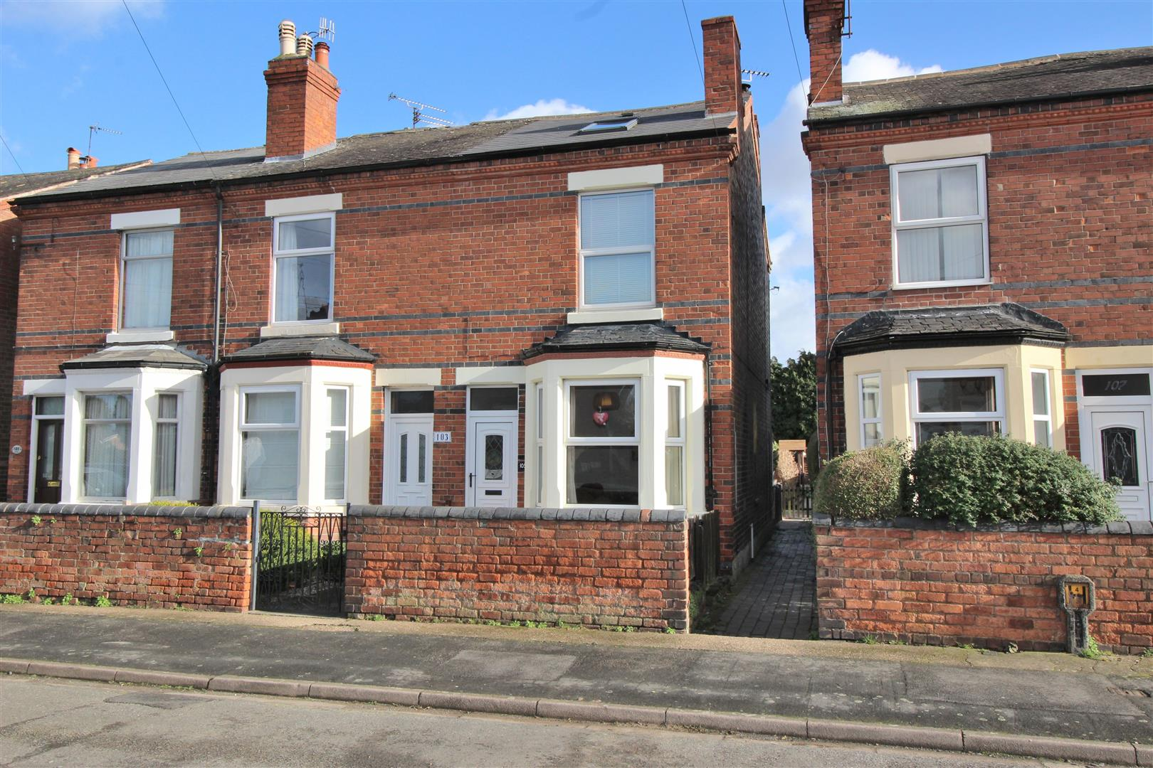 3 Bedrooms End Of Terrace House for sale in Trent Road, Beeston Rylands